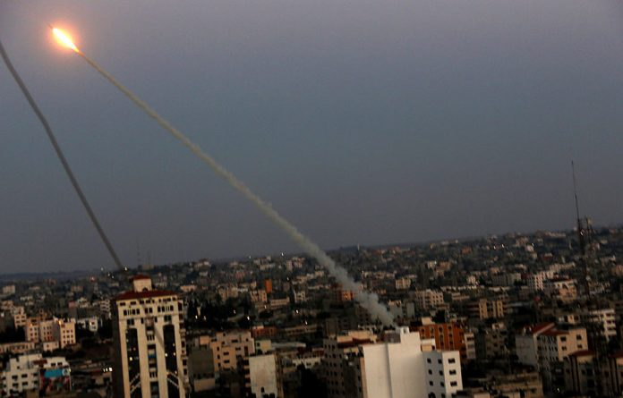 Israel's Iron Dome system.