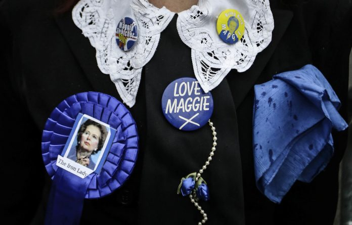 Black . . . and blue: The liberal myth of the individual was taken to the extreme by Margaret Thatcher