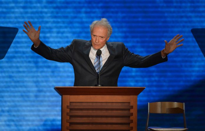 Clint Eastwood delivered an off-the-cuff monologue with an invisible Barack Obama at Mitt Romney's presidential nomination ceremony.