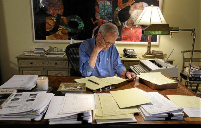 Literary life: Author Elmore Leonard