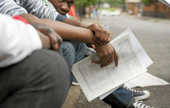 The improved matric pass rate was proudly announced the day before matriculants received their individual results.