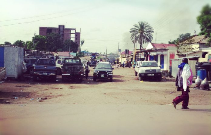Honk if you love aid organisations. Juba
