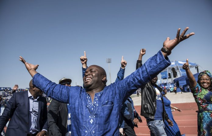 Higher ambition? Tshwane mayor Solly Msimanga says he wants to see out his term