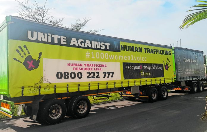 Truck drivers can assist to identify and help trafficking victims who have been forced into prostitution on Africa's highways