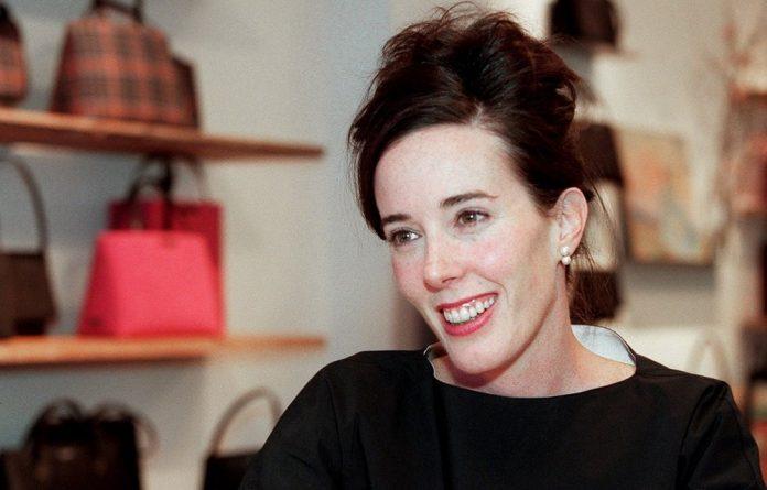 Kate Spade in her showroom in 1999.