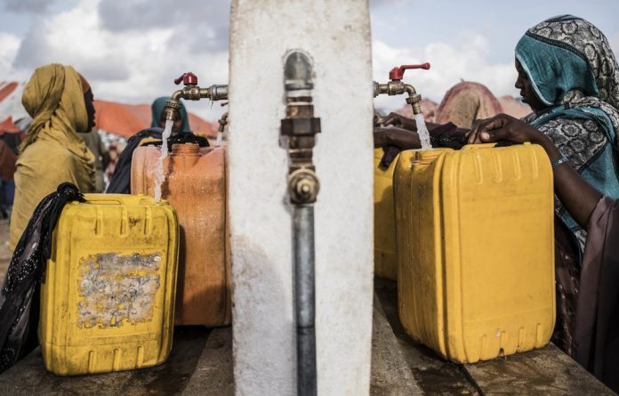 Outflow: An African Union study has found that water shortages are driving migration into cities and Europe.