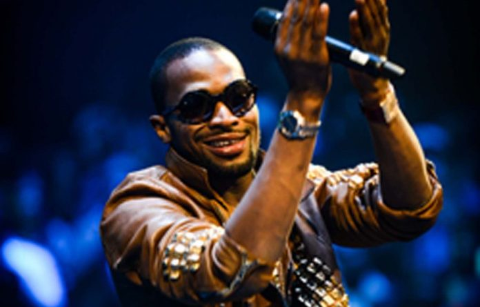 Nigerian music star D'banj.