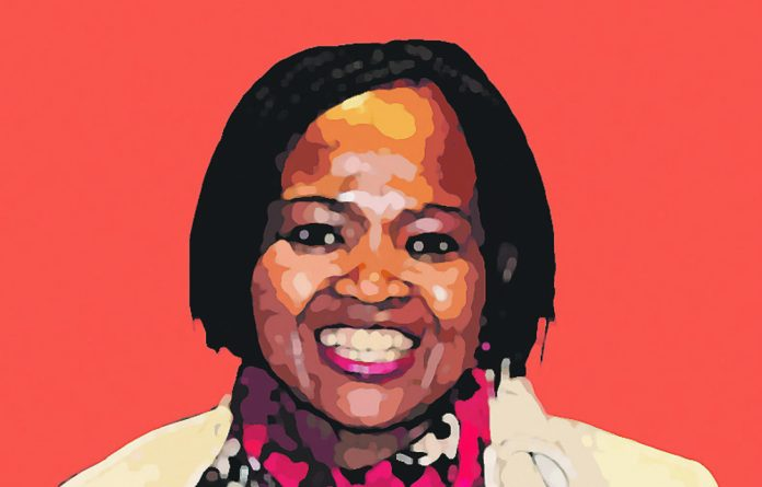 Dorcus Moleli said she had to work twice as hard as her male counterparts to succeed.