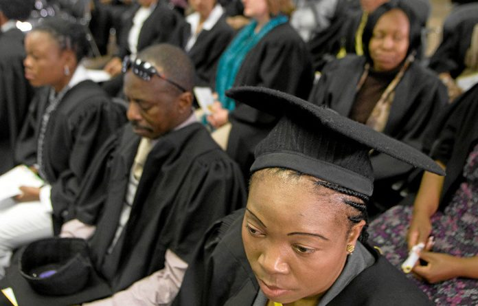 Left out: Many bright South Africans are graduating