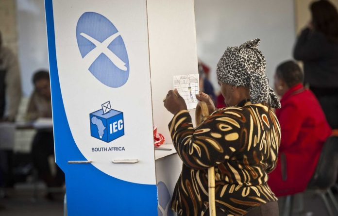 Residents in Tlokwe voted in the first round of the by-election in August.