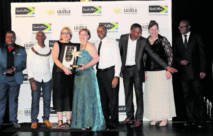 The Lilizela Awards is crucial as it recognises tourism businesses that are making exploring the country memorable and worthwhile. Here the winners of the Northern Cape accept their awards with much glee and celebration