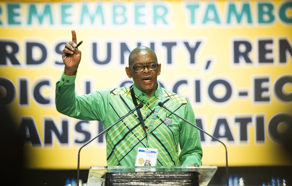 Magashule said that the ruling party would not be likely to vote with the opposition