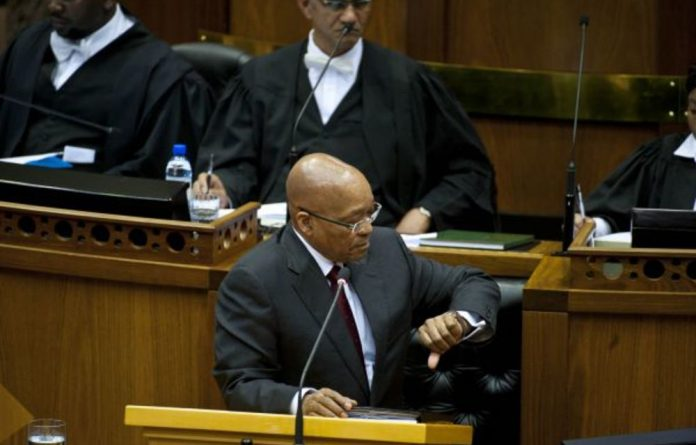 It now seems a matter of 'when' and not 'if' President Jacob Zuma will step down.