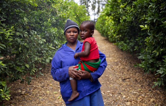 Amelie Chauke was able to keep up with her healthcare on the go and ensure her baby was born HIV negative with the help of farm-based clinics.