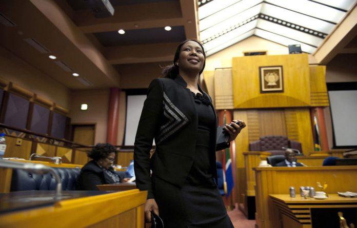 Deputy Communications Minister Stella Ndabeni-Abrahams.