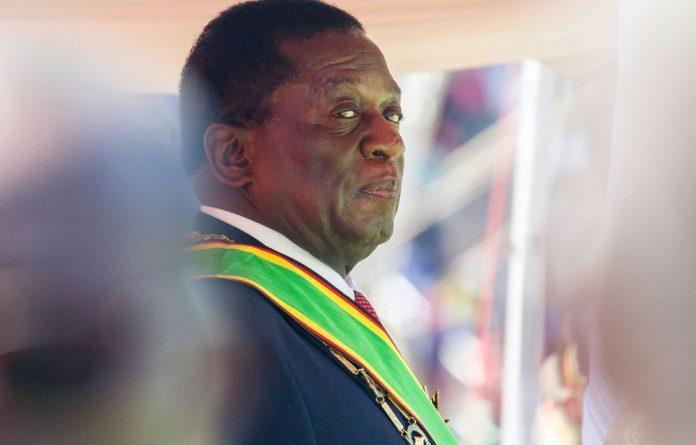 Turmoil: President Emmerson Mnangagwa was a key figure in the Gukurahundi massacres of the 1980s