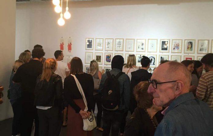 Opening of the Nando's Broken Monsters Charity Art Exhibition in Harrington Street