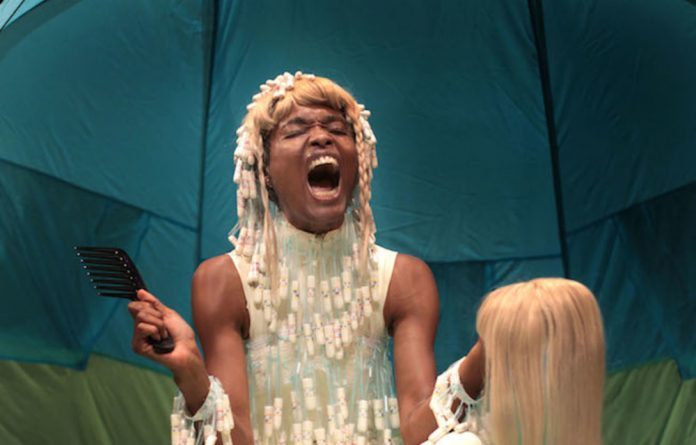 Nelisiwe Xaba 'Fremde Tänze' is one of the highlights at this year's Dance Umbrella.