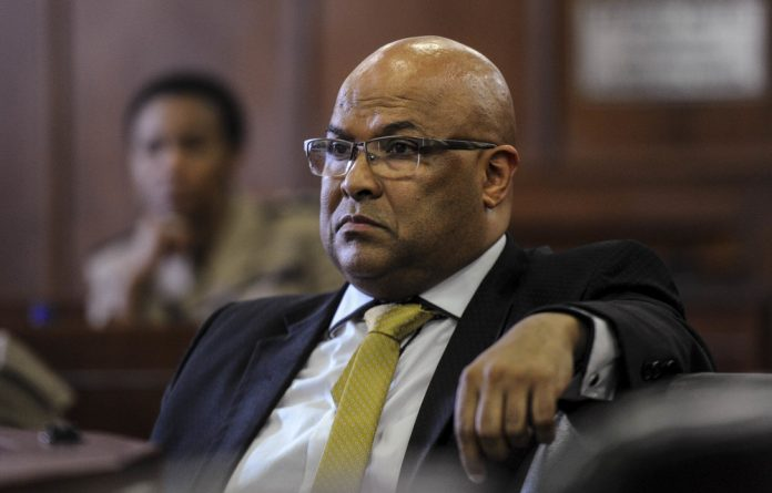 Hot seat: Arthur Fraser was the director general of the state's spy agency at the time alleged abuses occurred.
