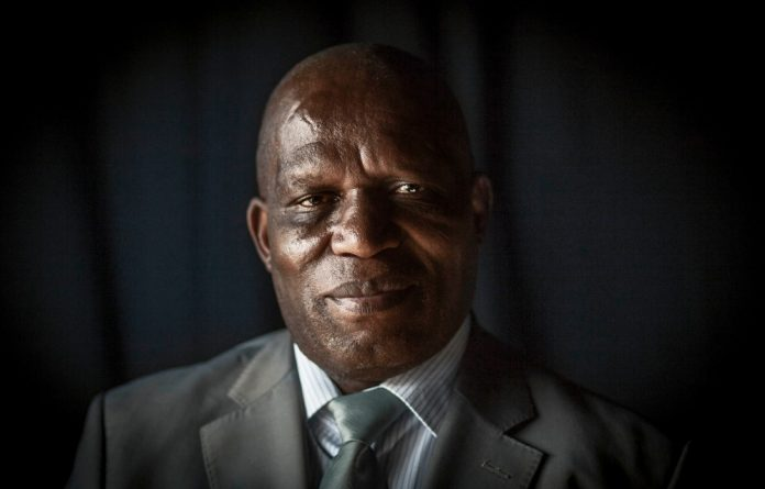 Minister of Agriculture Senzeni Zokwana can make comforting noises but has little say on land matters
