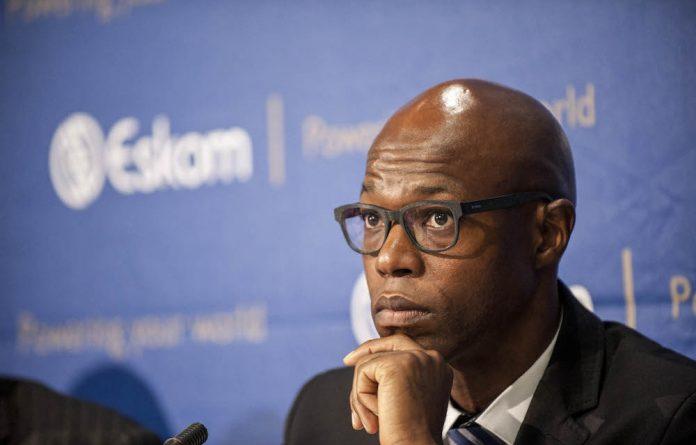 Former acting Eskom CEO Matshela Koko.