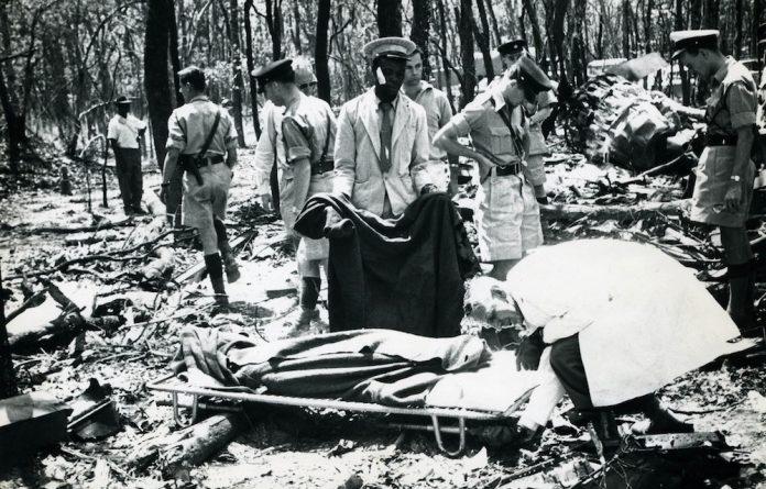 Hammarskjöld's body