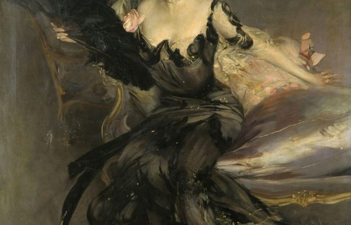 Patron saint: Randlord Sir Lionel Phillips and Lady Florence had their portraits painted by Giovanni Boldini. A smaller version of Portrait of Lady Phillips is in the South African National Gallery