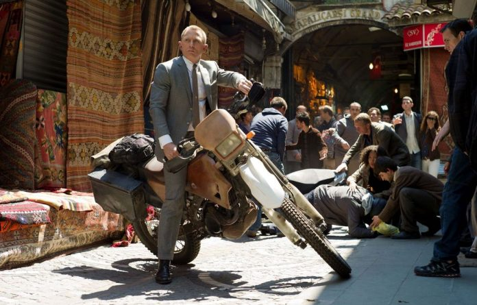 Careworn: Daniel Craig stars in Skyfall.