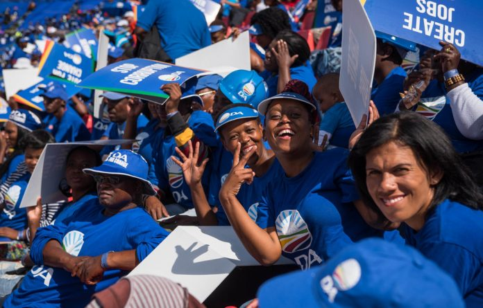 The DA could be a great example of a political party that transforms gradually to embody the true character of the nation in the elections leading to 2029.