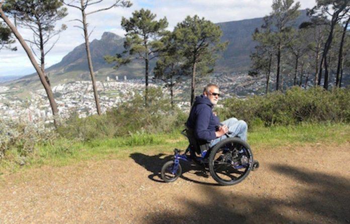 John Phillips on his Mountain Trike.