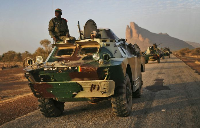 A French-led African and Malian military intervention in January liberated the region.
