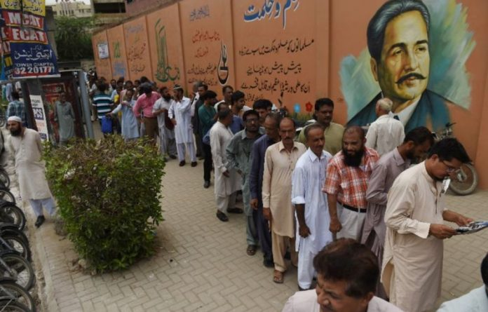This election has been dubbed Pakistan's