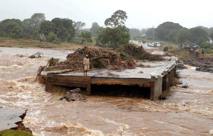 The UN has warned that stagnant water in many areas