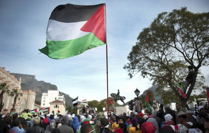 The protests initially drew global attention