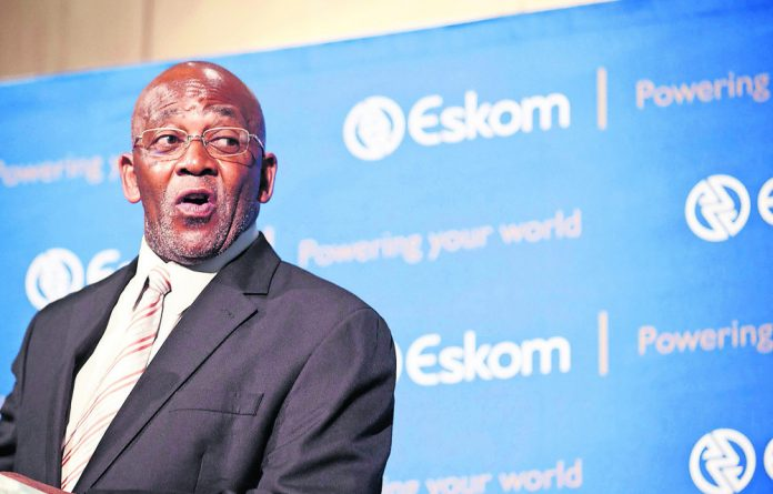No demands: Zola Tsotsi didn't want his departure from Eskom to be disruptive.