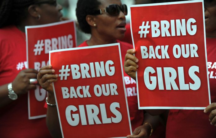 Outcry: Nigerian insurgents Boko Haram sparked the global #bringbackourgirls campaign in April 2014 when they abducted 276 girls from their secondary school in northeast Nigeria.