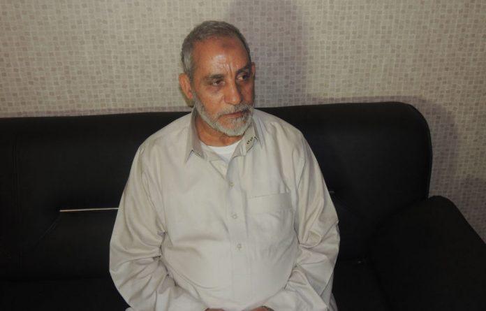 Leader of the Muslim Brotherhood Mohamed