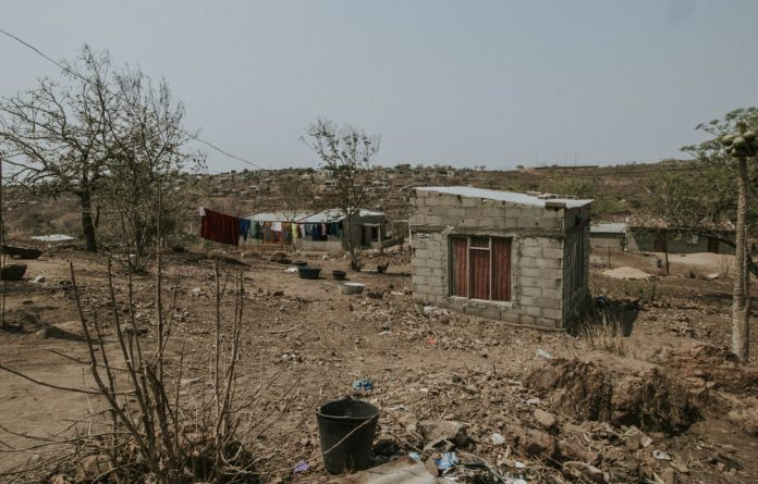 The quiet and impoverished town of Ressano Garcia houses Mozambique's Lebombo border post