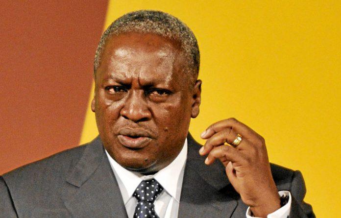 Ghana's new president