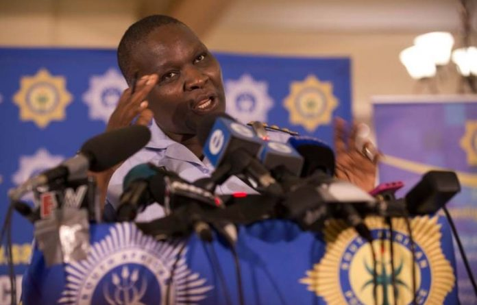 National commissioner Riah Phiyegah after the release of the 2012/2013 crime statistics.