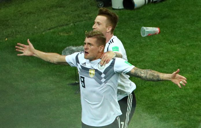 Toni Kroos rescued holders Germany from the brink of an unthinkable early World Cup.