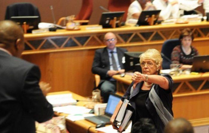 DA Mayor Annette Combrink.