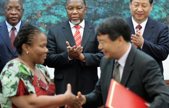 Sino-African relations are unfolding against the backdrop of China's increasing dominance in the global economy