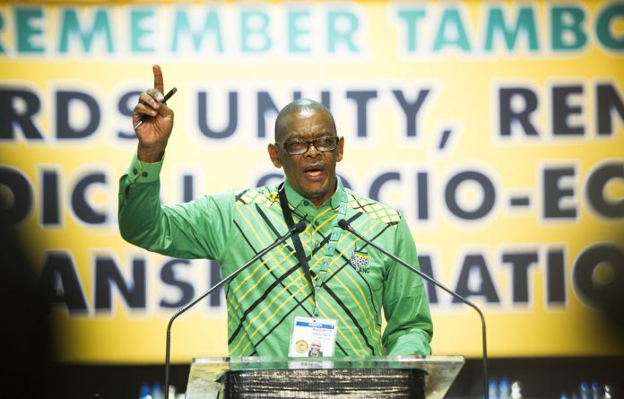 In a web: ANC secretary general and former Free State premier Ace Magashule