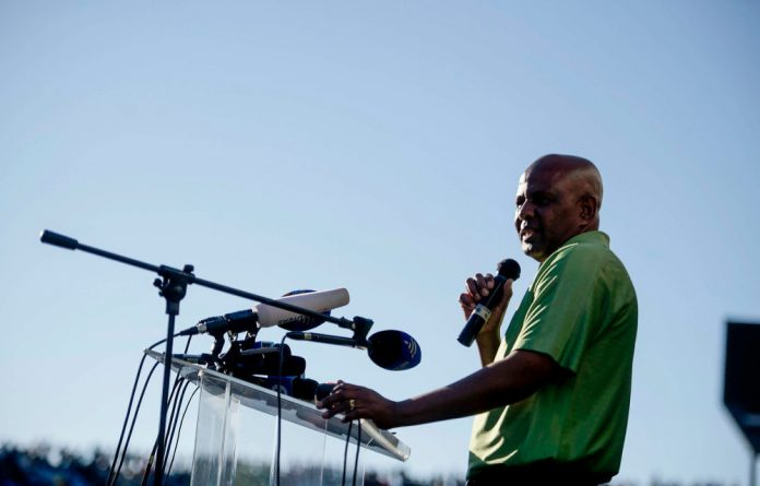 Amcu head Joseph Mathunjwa insists his union's affairs are in order and that the possible deregistration of the union is