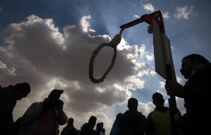 Sri Lanka's government began interviewing 47 potential hangmen.