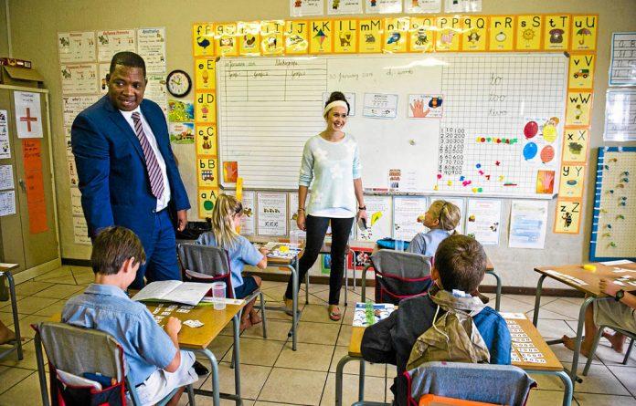 The MEC for education in Gauteng