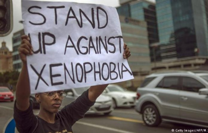 Party leaders condemn xenophobia.