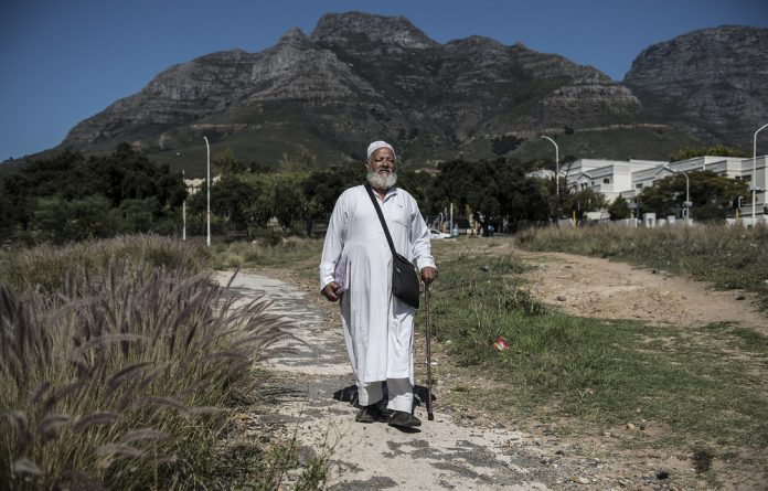 Forward in faith: Mogamat Benjamin is a devout Muslim who believes others should accept him for who he is: a proud gay man. Photos: David Harrison