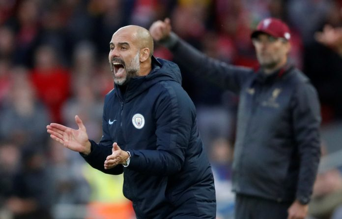 Guardiola's men are in contention to win all four major trophies after lifting the League Cup